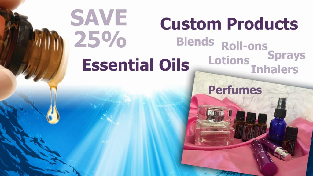 Essential Oils and Custom Essential Oil Products by Scarlet Strapko