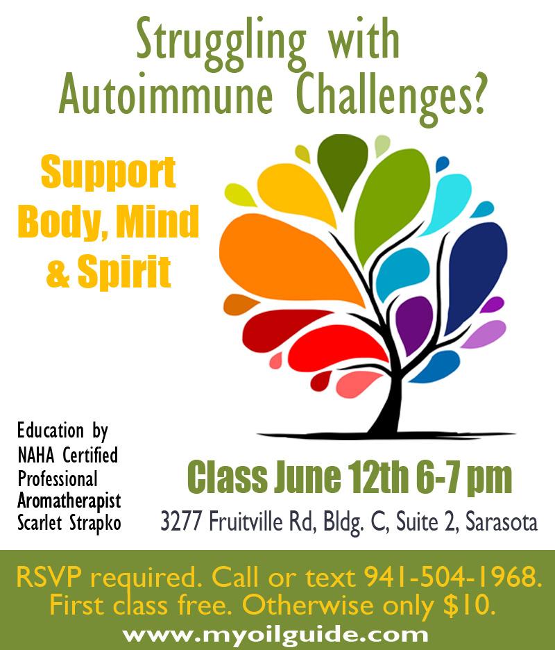Educational Class Autoimmune Challenges