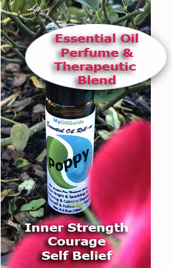 Poppy Essential Oil Perfume & Therapeutic Blend