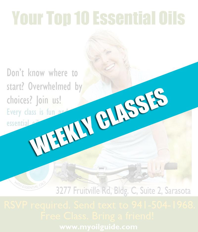 Essential Oils Weekly Classes MyOilGuide