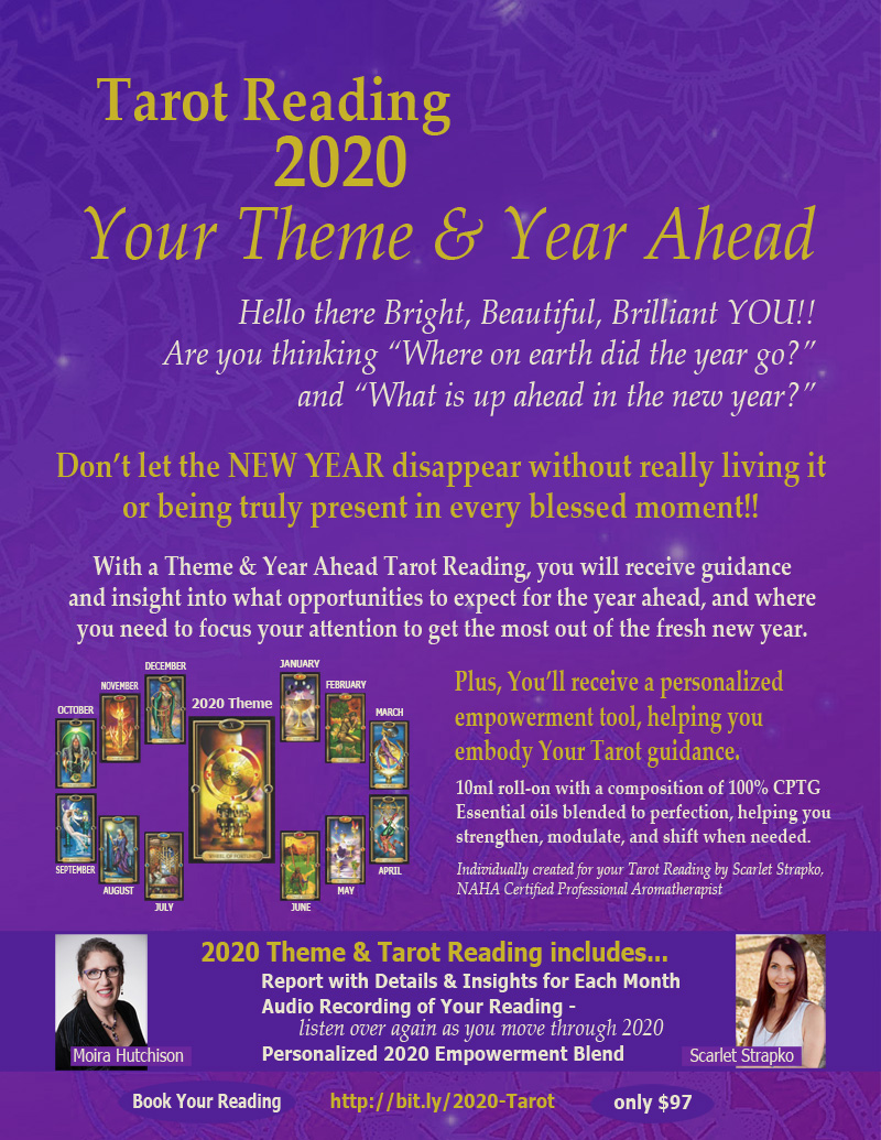2020 Tarot Reading and Emotional Empowerment Blend