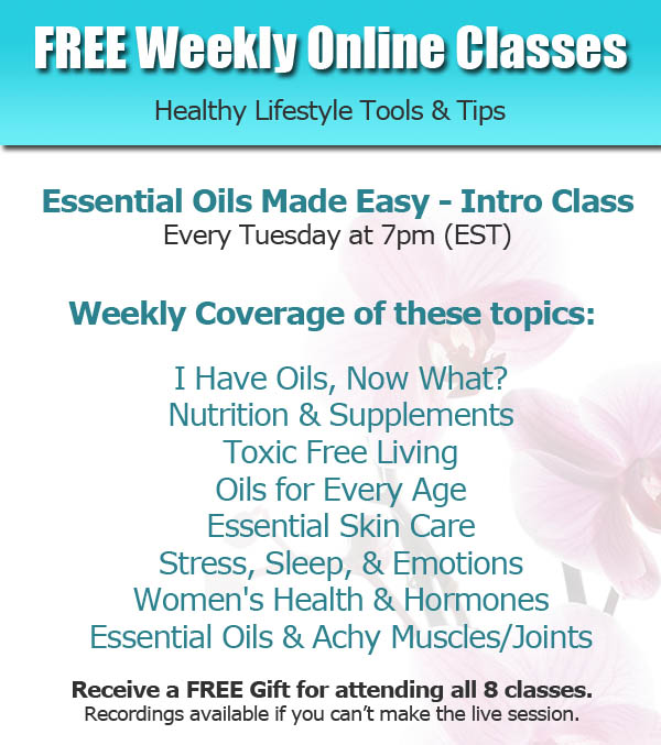 FREE Weekly Essential Oils Education Classes