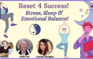 Stress, Sleep and Emotions Interview on Reset 4 Success