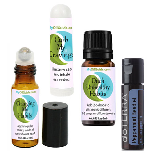 Ditch Unhealthy Habits Essential Oils Kit