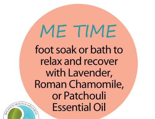 'Me Time' – Stress Relief Foot Soaks and Baths